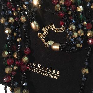 "Joan Rivers ""Glamorous Night Torsade"" Necklace"